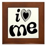 I Love Me Framed Tile