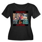 100 Years of Tom Swift W's Plus-Scoop Neck T-Shirt