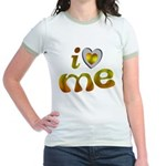 I Love Me Jr. Ringer T-Shirt