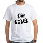 I Love Me White T-Shirt
