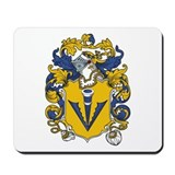 Sidney Coat of Arms Mousepad