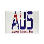 AUS Australia Rectangle Magnet