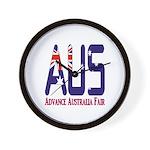 AUS Australia Wall Clock