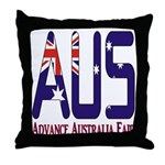 AUS Australia Throw Pillow