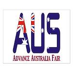 AUS Australia Small Poster