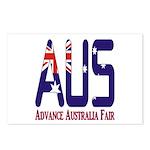 AUS Australia Postcards (Package of 8)