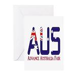 AUS Australia Greeting Cards (Pk of 10)