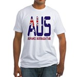 AUS Australia Fitted T-Shirt