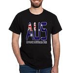 AUS Australia Black T-Shirt