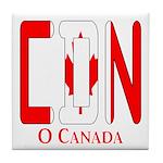 CDN Canada Tile Coaster