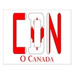CDN Canada Small Poster