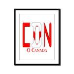CDN Canada Framed Panel Print
