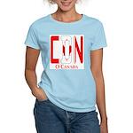 CDN Canada Women's Pink T-Shirt
