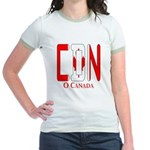 CDN Canada Jr. Ringer T-Shirt