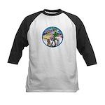 Xmas Magic / 3 Boxers Kids Baseball Jersey