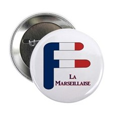 "F France 2.25"" Button (10 pack)"