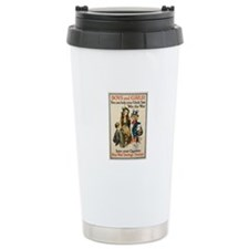 Boys and Girls Ceramic Travel Mug