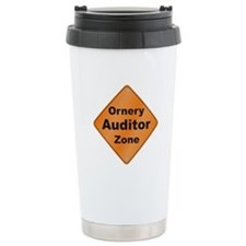 Ornery Auditor Ceramic Travel Mug