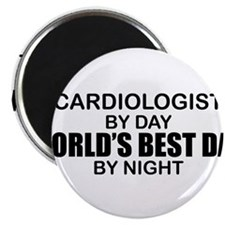 World's Best Dad - Cardiologist Magnet
