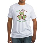 Love of the Irish Fitted T-Shirt