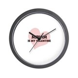 Miriam Is My Valentine Wall Clock