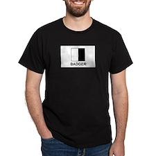 Badger Black T-Shirt
