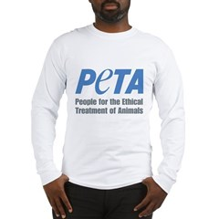 PETA Logo Long Sleeve T-Shirt