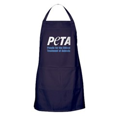 PETA Logo Apron (dark)