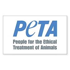 PETA Logo Stickers