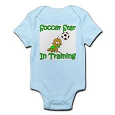 Soccer Star in Training Ethan Infant Creeper