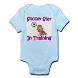Soccer Star in Training Hannah Infant Creeper