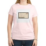 Montana Stamp Women's Pink T-Shirt