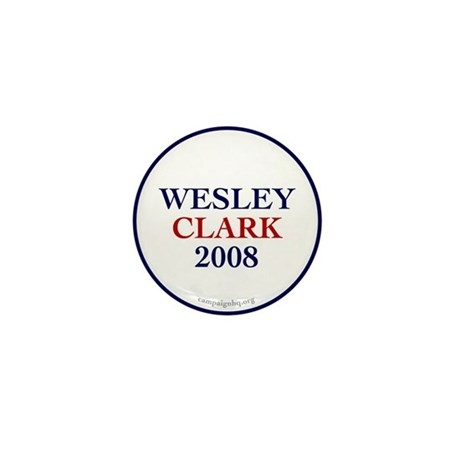 Wesley Clark 2008 Mini Button (10 pack)