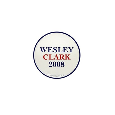 Wesley Clark 2008 Mini Button