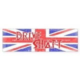 Drive Shaft British Flag Lost Bumper Bumper Sticker