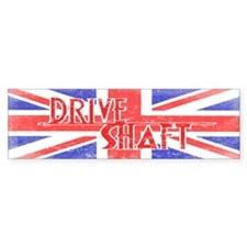 Drive Shaft British Flag Lost Bumper Sticker