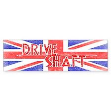 Drive Shaft British Flag Lost Bumper Bumper Sticker