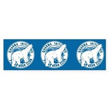 Dharma Initiative Polar Bear Club 3 Pk Stickers