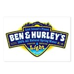 Ben & Hurley's Spring Water Postcards (Package of