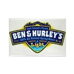 Ben & Hurley's Spring Water Rectangle Magnet (10 p