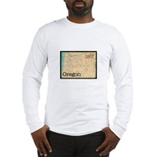 Oregon Stamp Long Sleeve T-Shirt