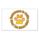 Rottweiler Sticker (Rectangle 10 pk)