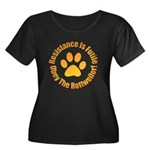 Rottweiler Women's Plus Size Scoop Neck Dark T-Shi