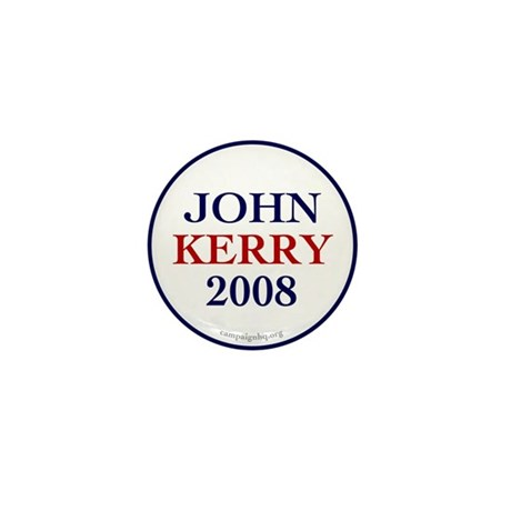 John Kerry 2008 Mini Button (100 pack)