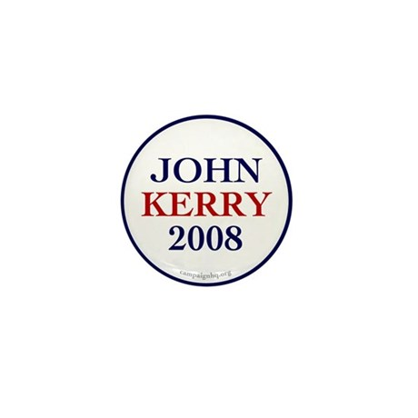 John Kerry 2008 Mini Button