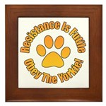 Yorkshire Terrier Framed Tile