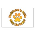 Yorkshire Terrier Sticker (Rectangle 50 pk)