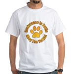 Yorkshire Terrier White T-Shirt