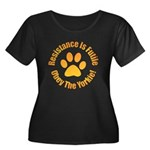 Yorkshire Terrier Women's Plus Size Scoop Neck Dar