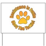 Yorkshire Terrier Yard Sign